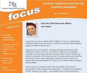 Focus Newsletter – March 2017